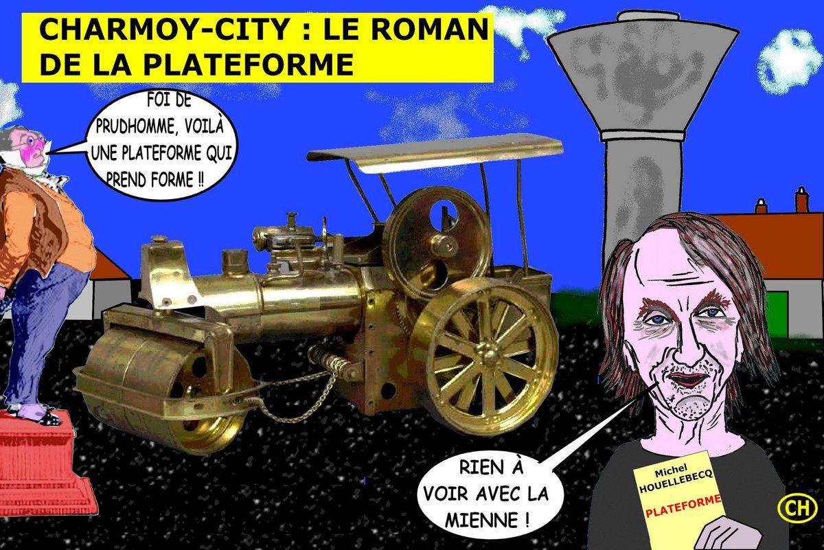 Charmoy-City, le roman de la plateforme