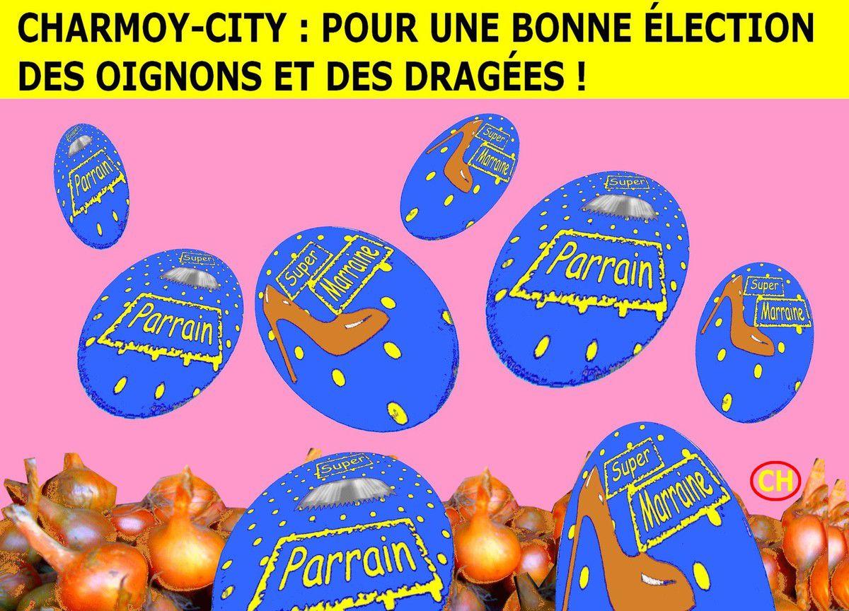 Charmoy-City élection oignons et dragées