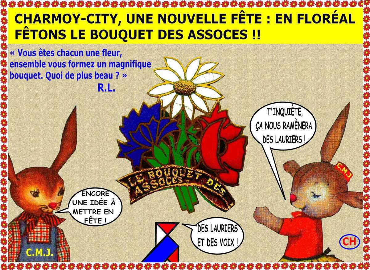 Charmoy-City, le bouquet des Assoces