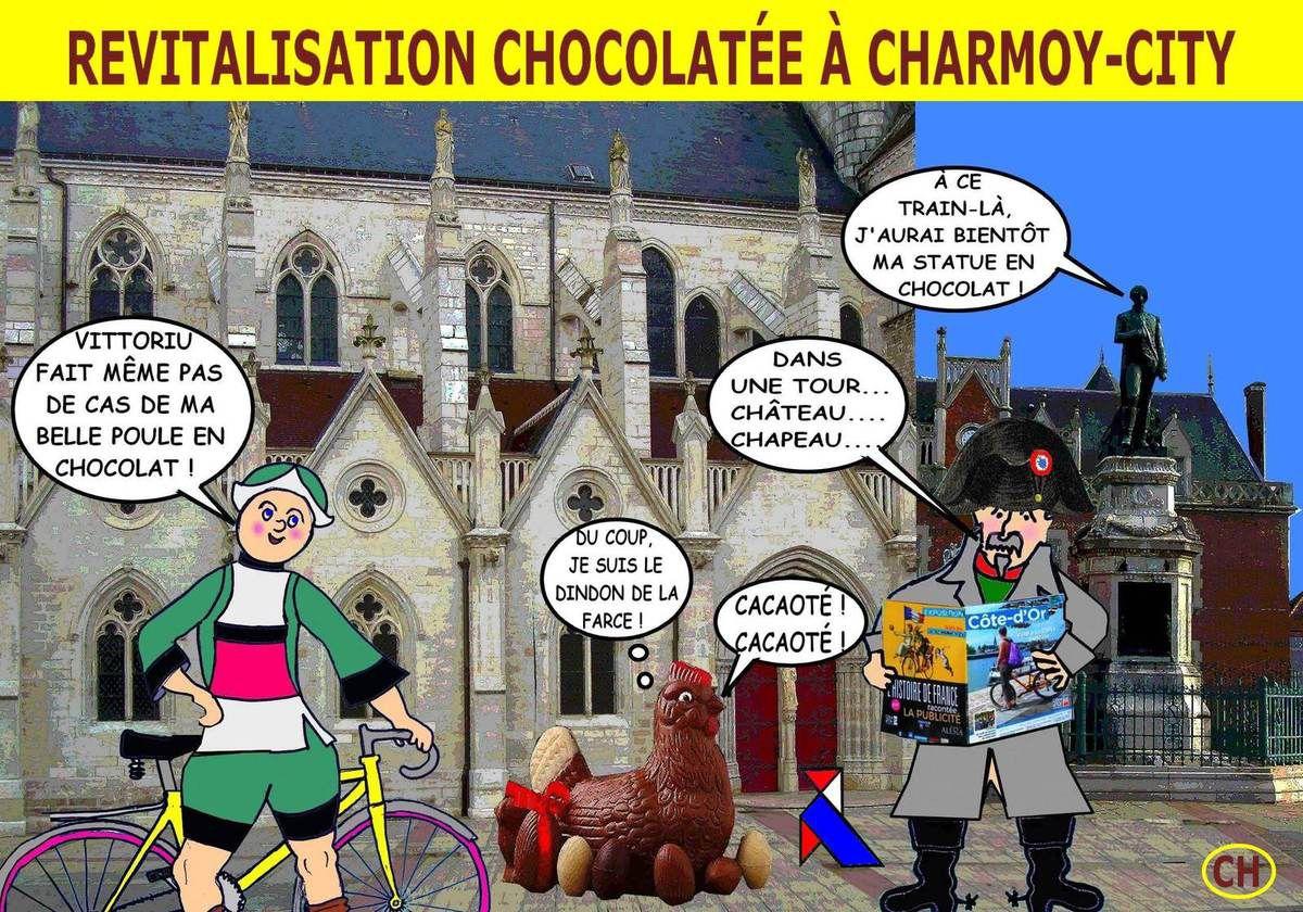Revitalisation chocolatée à Charmoy-City