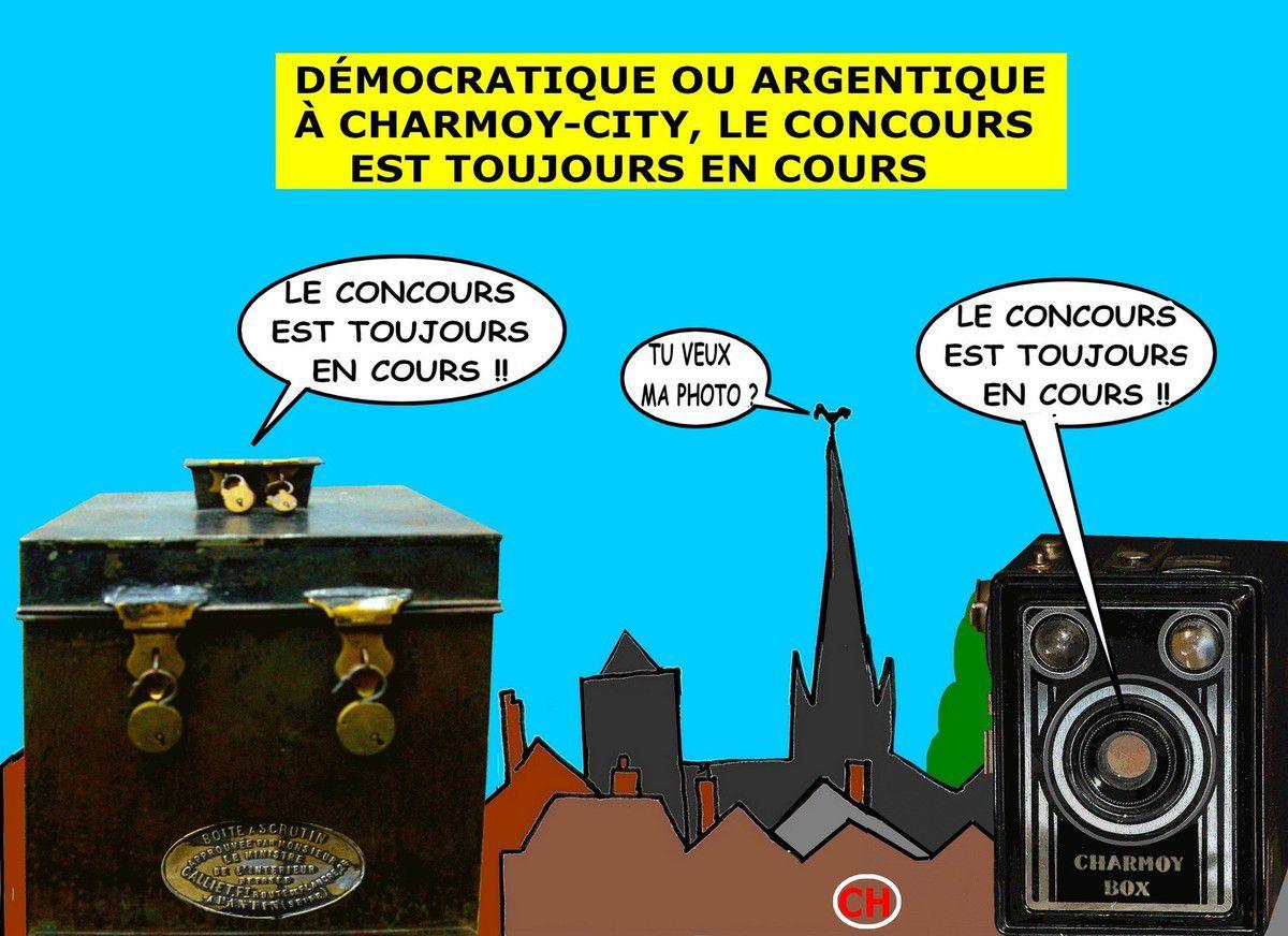Démocratique ou argentique à Charmoy-City, les concours continuent