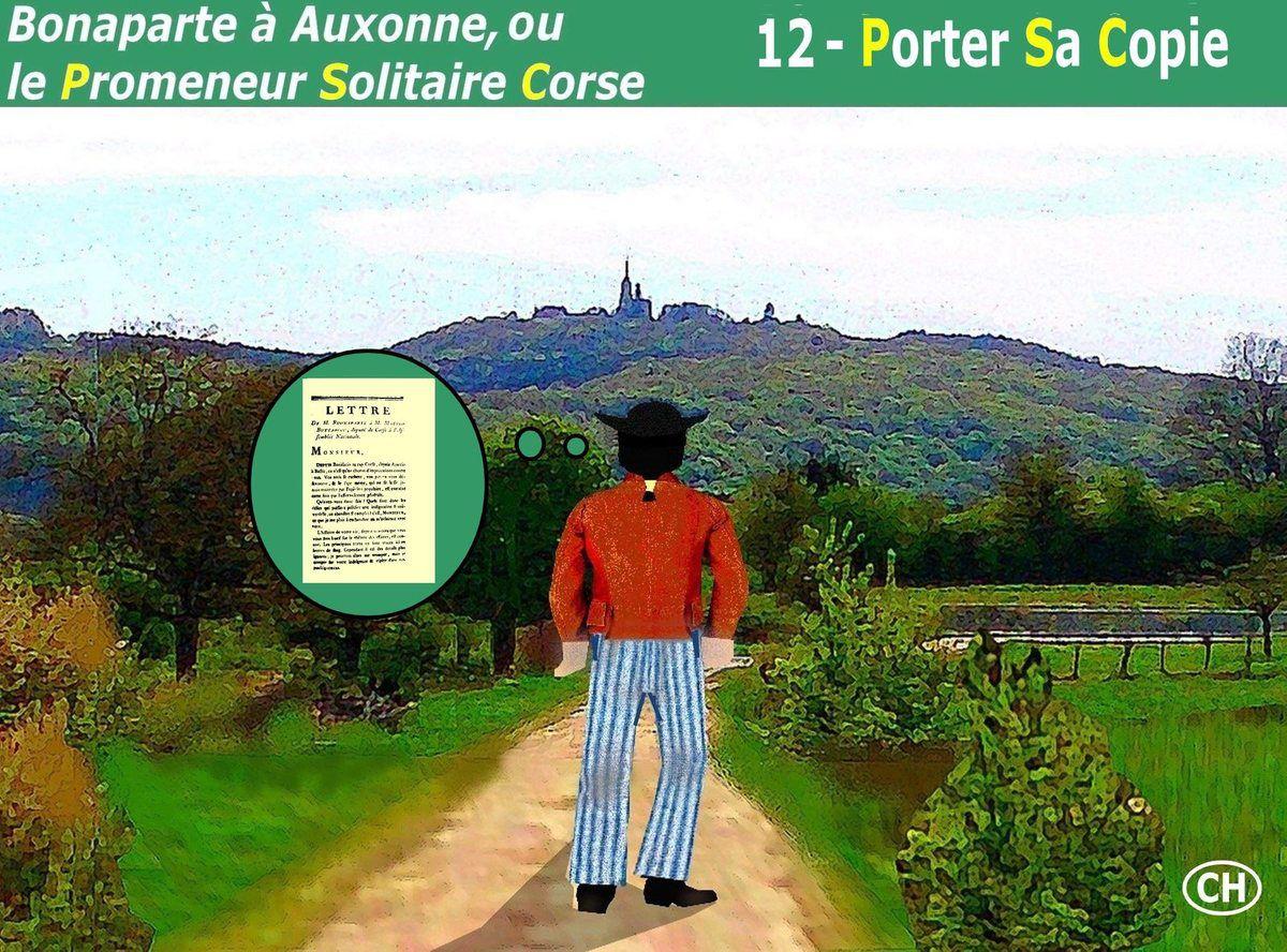 ALBUM BONAPARTE À AUXONNE ou le Promeneur Solitaire Corse