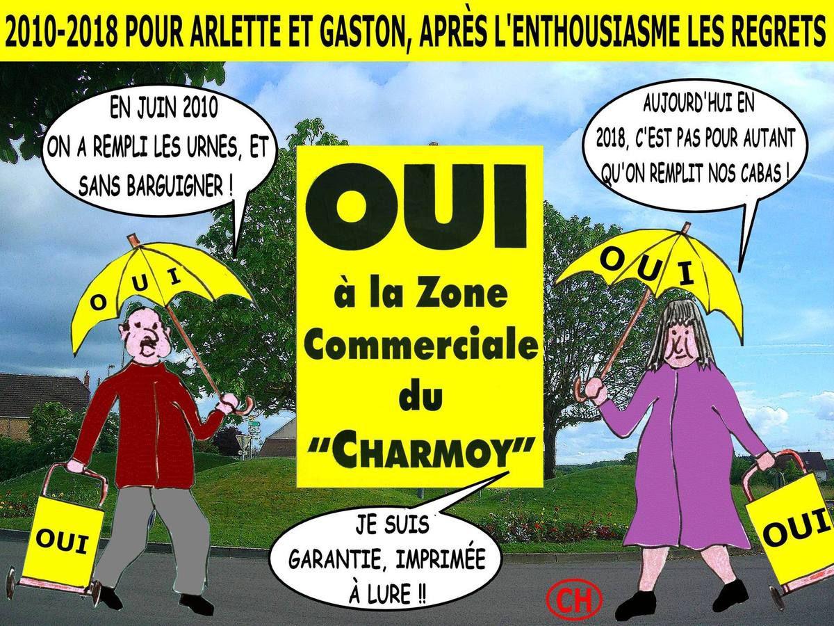 2010-2018 Pour Arlette et Gaston , après l'enthousiasme, les   regrets