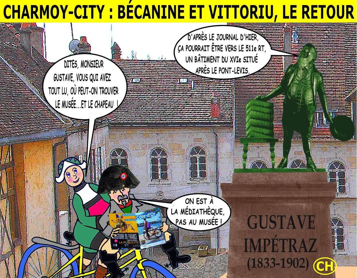 Charmoy-City, Bécanine et Vittoriu, le retour