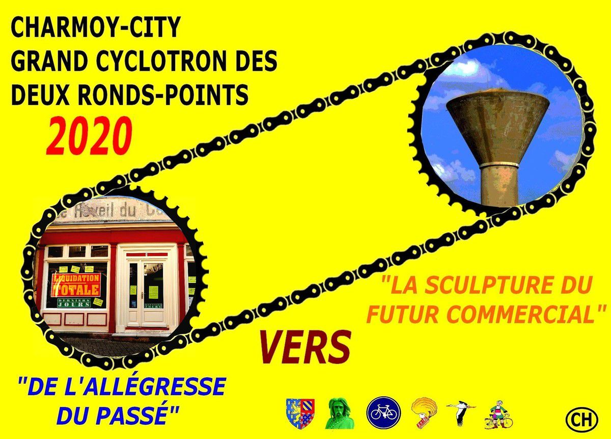 Charmoy-city, grand cyclotron des ronds points 2020
