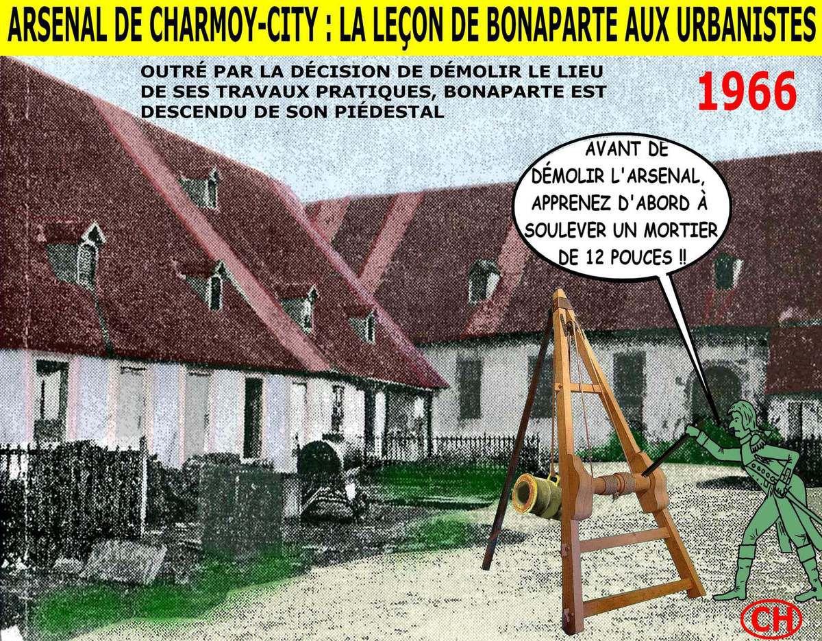 la leçon de Bonaparte aux urbanistes