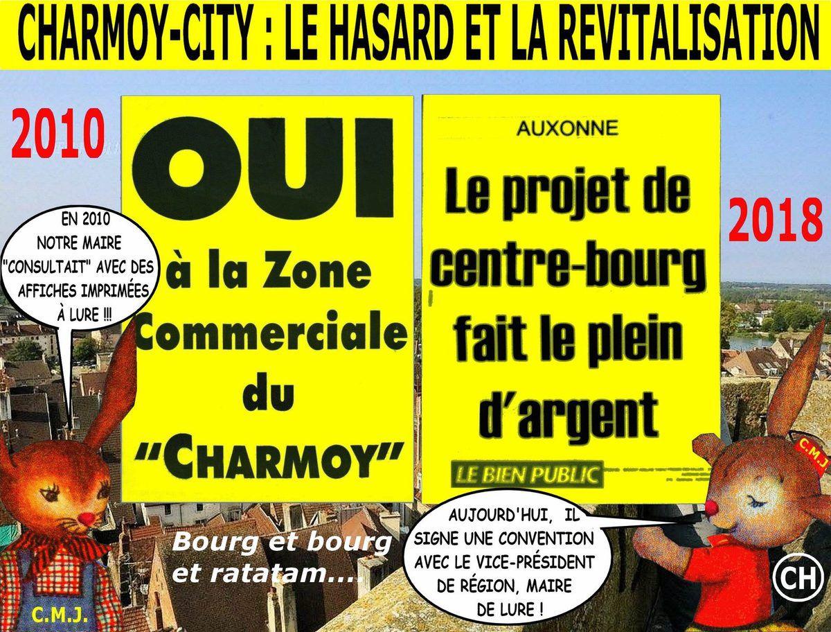 Charmoy-City : le hasard et la revitalisation