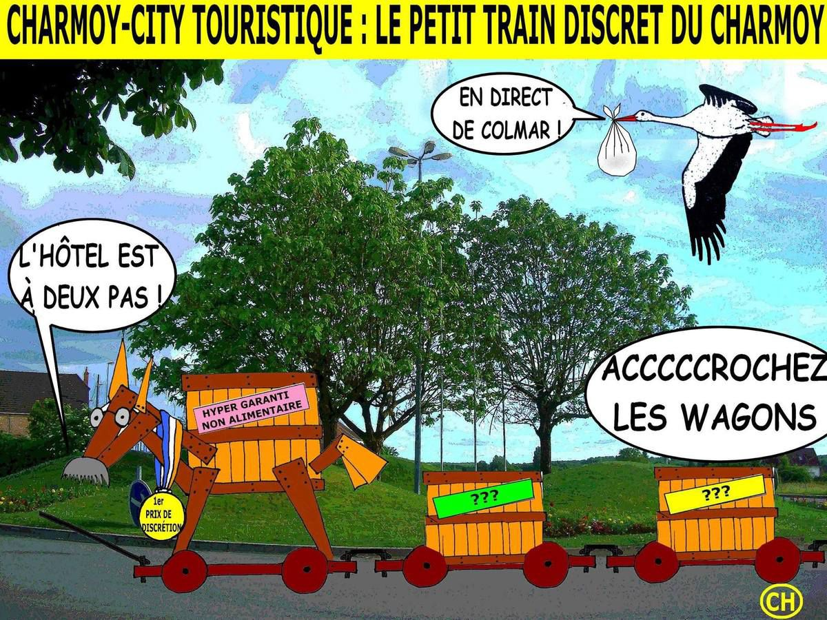 Charmoy-City, le petit train discret du Charmoy
