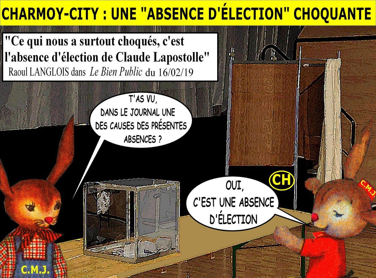 Charmoy-City, une absence d'élection choquante