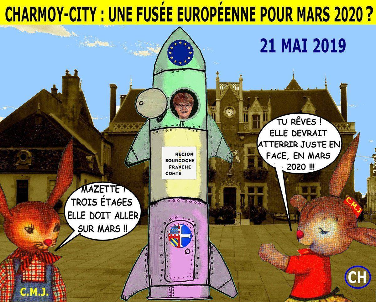 Charmoy-City, une fusée européenne pour mars 2020