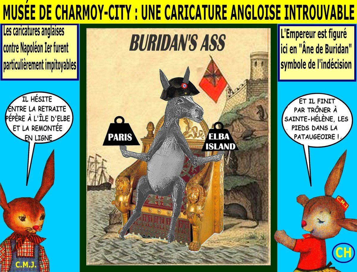 Musée de Charmoy-City, une caricature angloise introuvable