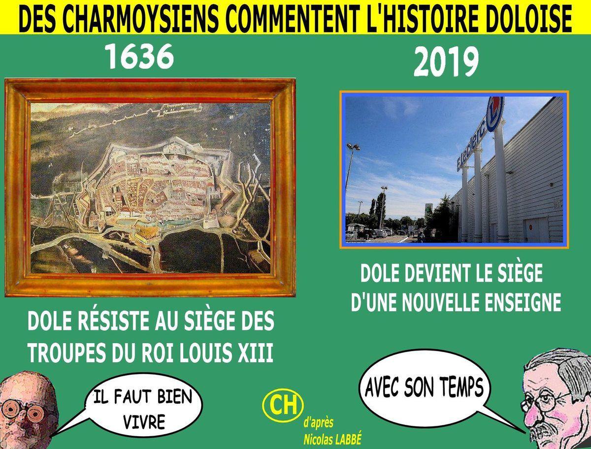 Des Charmoysiens commentent l'histoire doloise