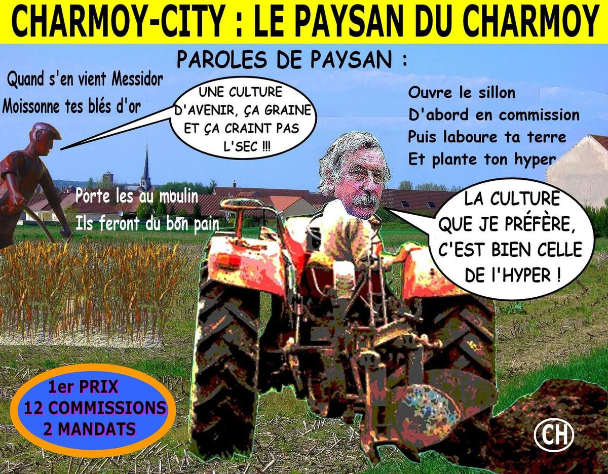 Charmoy-City, le paysan du Charmoy