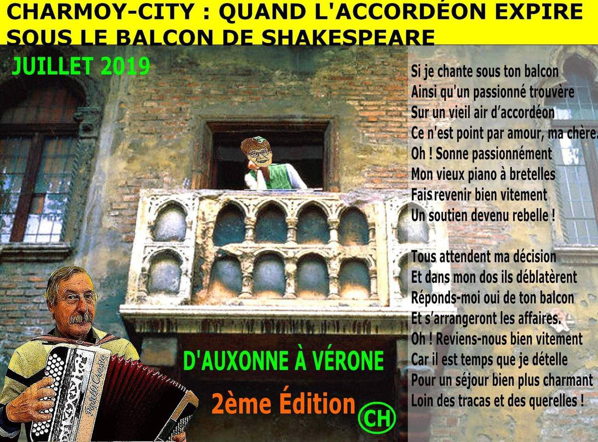 Charmoy-City, quand l'accordéon expire sous le balcon de Shakespeare