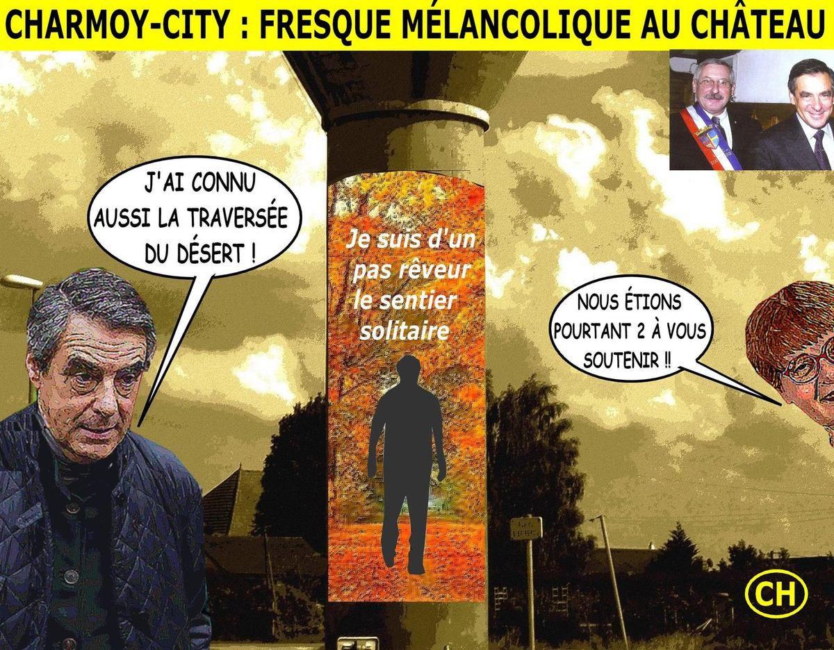 Charmoy-City, fresque mélancolique au châreau