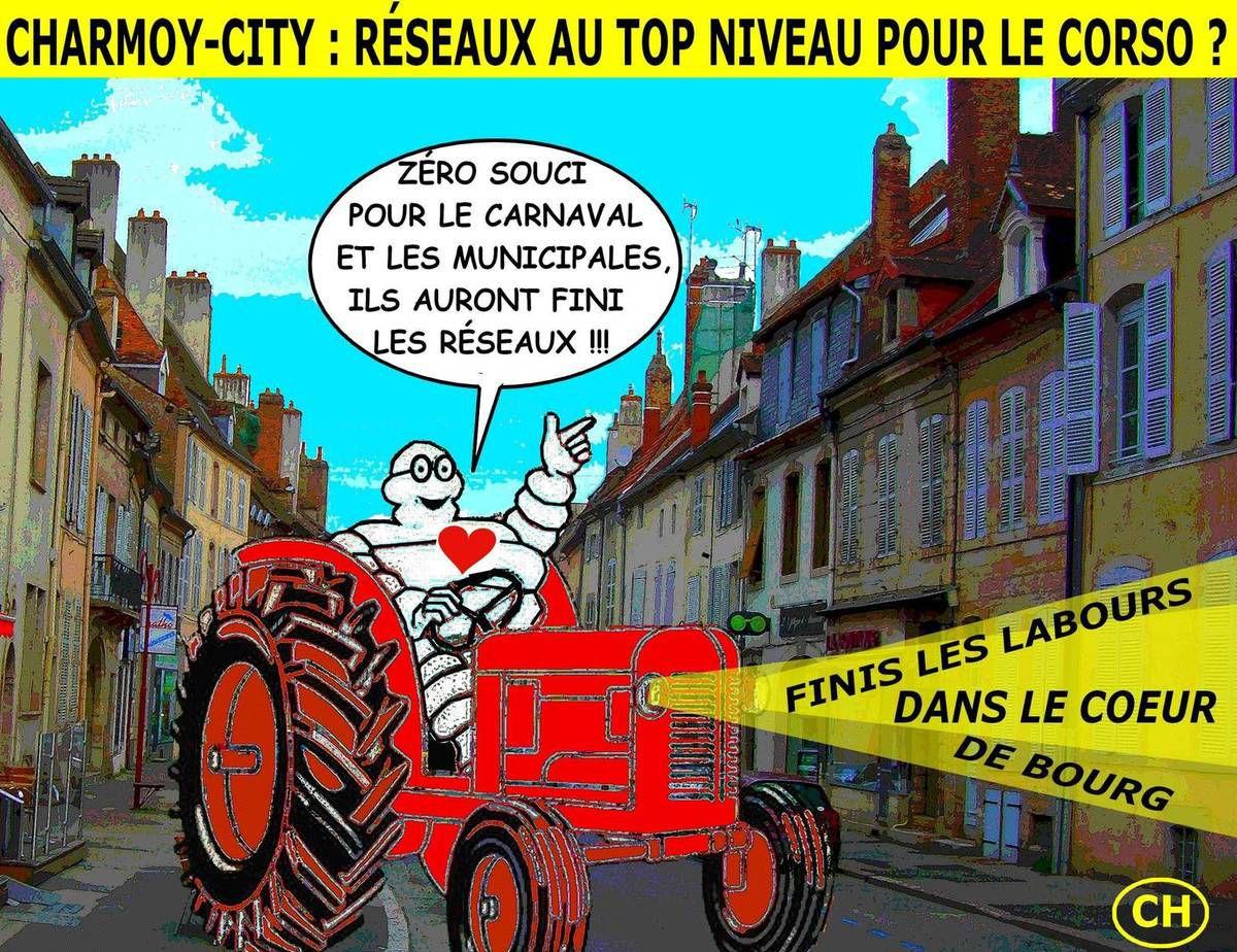 Charmoy-City, zéro souci pour le Carnaval et les municipales
