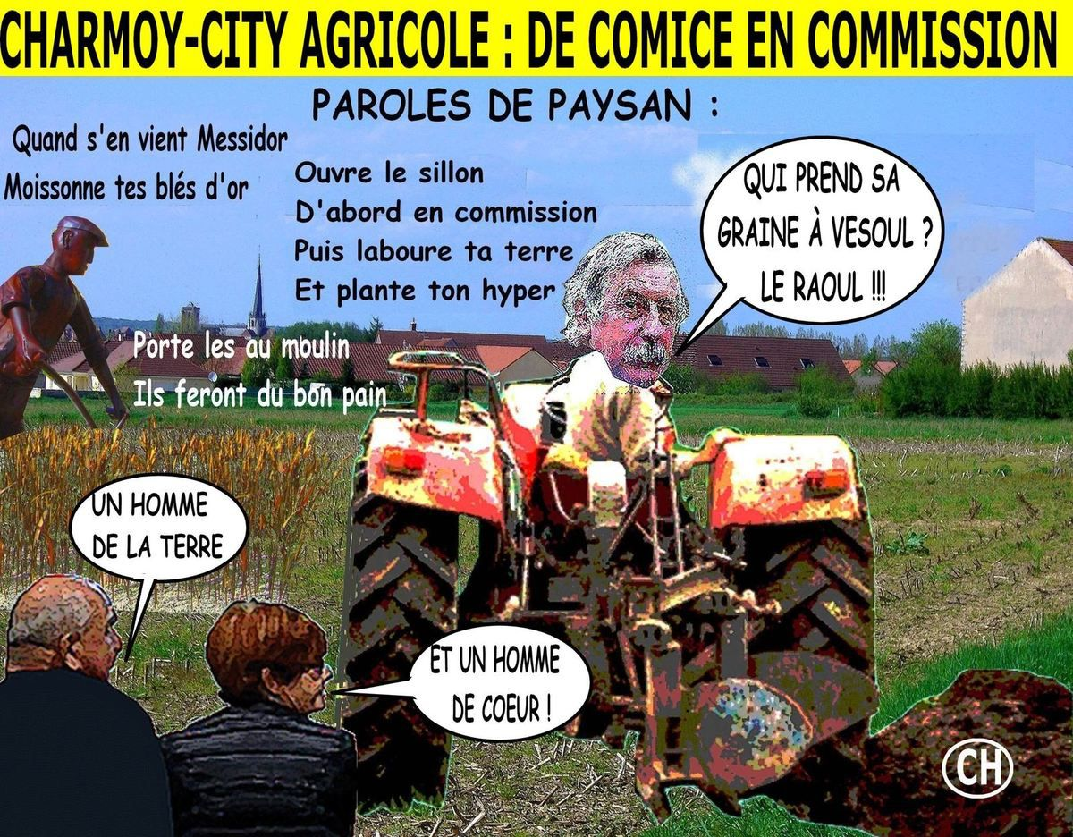 Charmoy-City agricole, de comice en commission