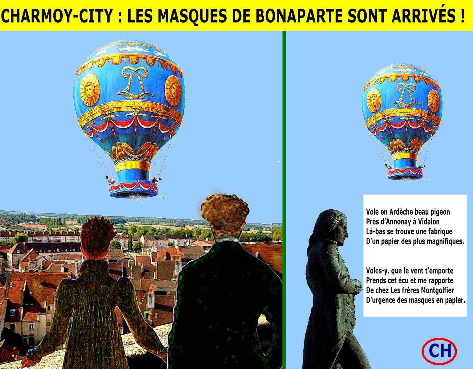 Charmoy-City, les masques de Bonaparte sont arrivés.jpg