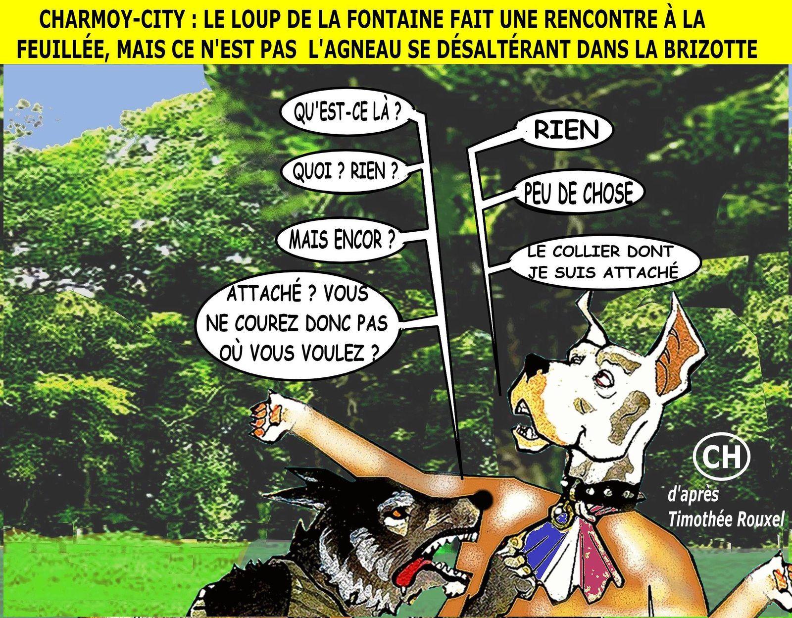 Charmoy-City, le loup de La FONTAINE fait une rencontre à La Feuillée .jpg