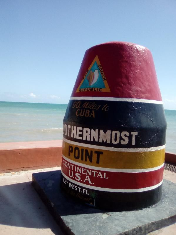 Southernmost Point, 90 miles to Cuba