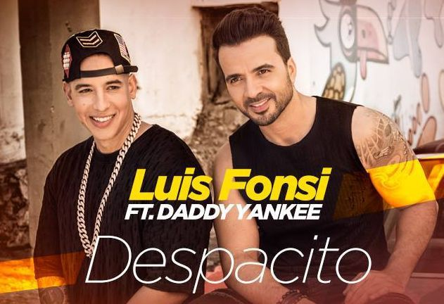 Despacito de Luis Fonsi ft Daddy Yankee chanson de l'été 2017