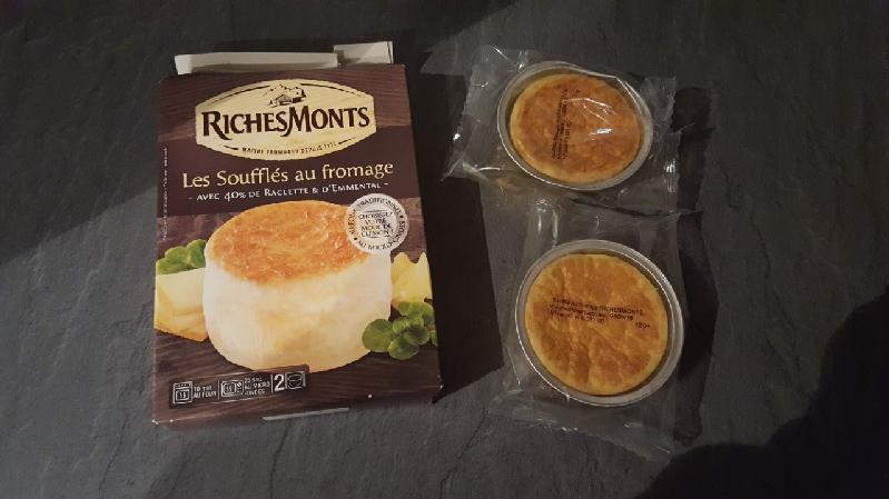 Soufflés au fromage RicheMonts