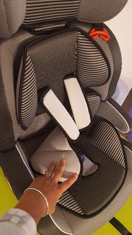 réducteur d'assise et de dossier siège auto CS515L de Bambisol