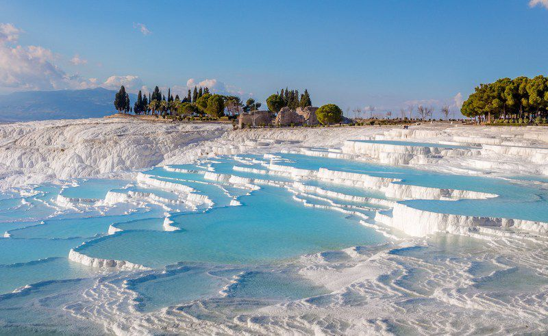 parc naturel de Pamukkale en Turquie (source photo @.journalofnomads.com)