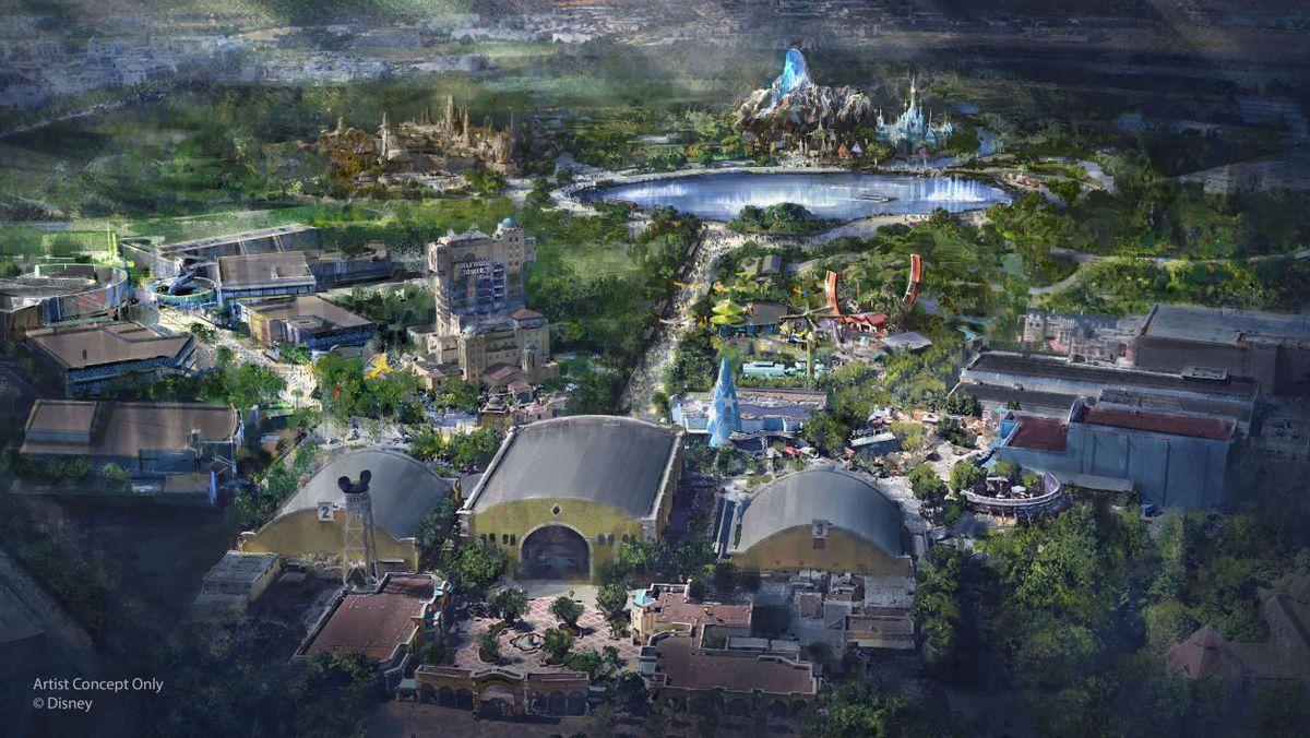 Projet d'agrandissement The Walt Disney Studios