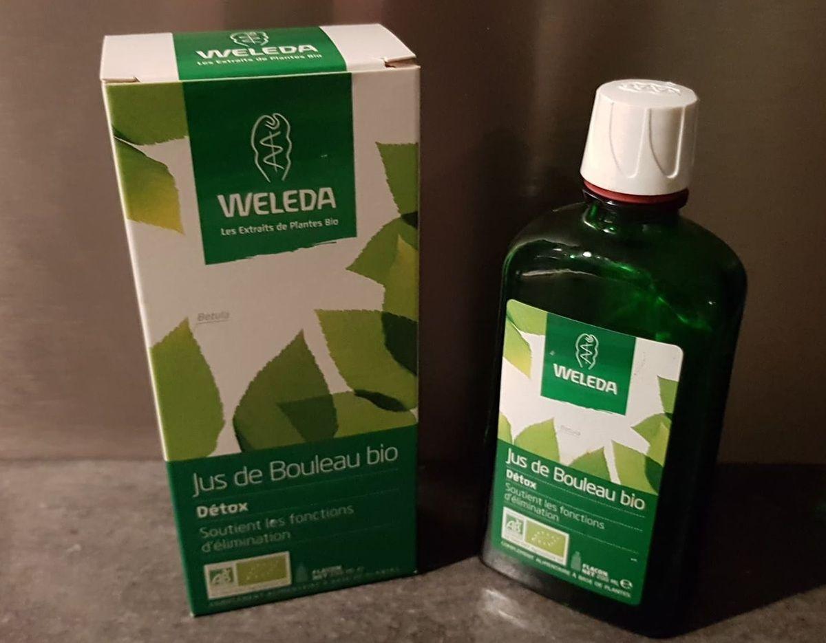 Ma cure DETOX avec le jus de bouleau Bio de chez Weleda !