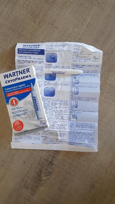 Stylo anti verrues Wartner by Cryopharma.