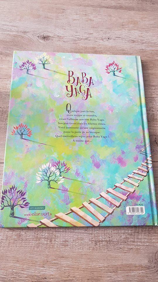 BABA YAGA, un livre pour enfant rempli d'émotion à découvrir absolument !