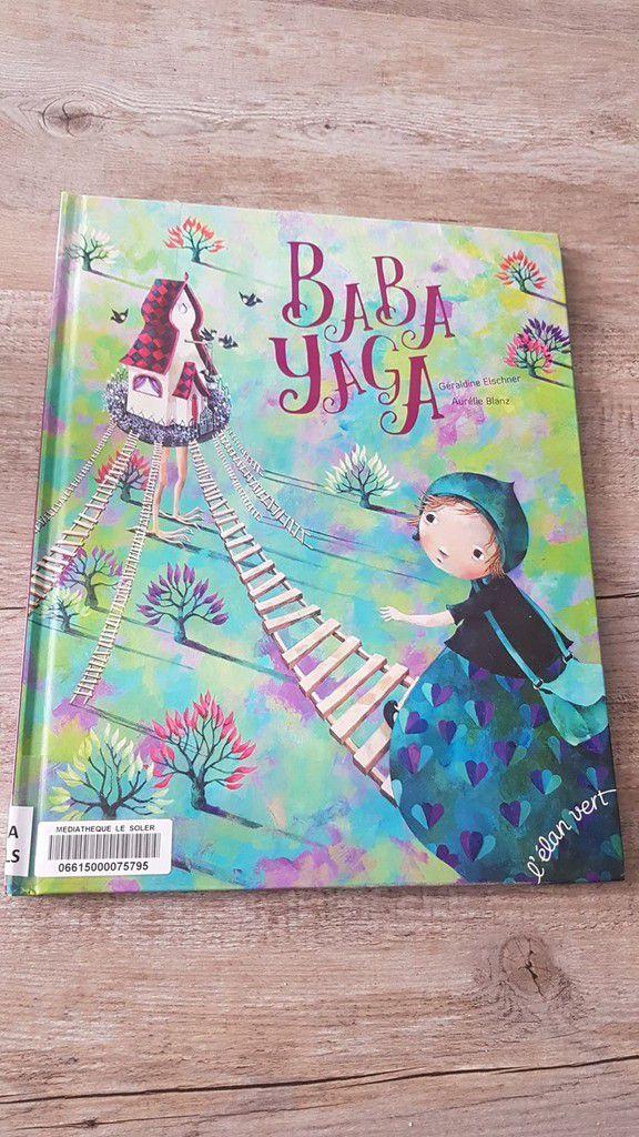 BABA YAGA, un livre pour enfant rempli d'émotions à découvrir absolument !