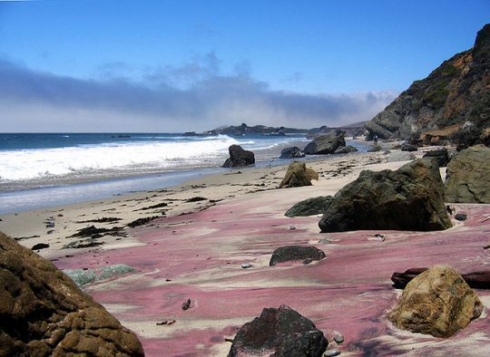 La Plage Pfeiffer Beach en Californie