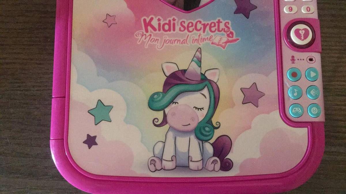 """Mon journal intime """"Kidi Secret """" de la marque Vtech de ma fille !"""