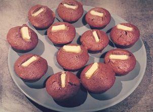 Recette Muffins aux deux chocolats