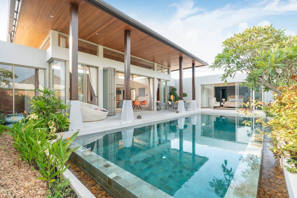 Quand la piscine donne de la valeur à la maison !