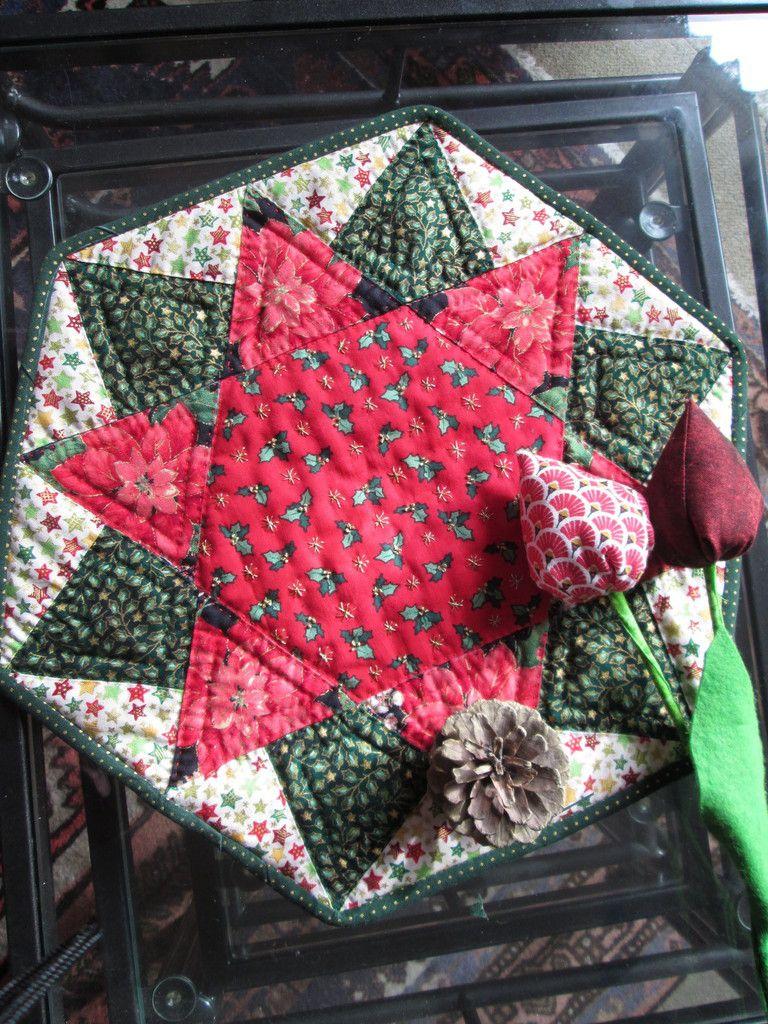 Napperon hexagonal étoilé