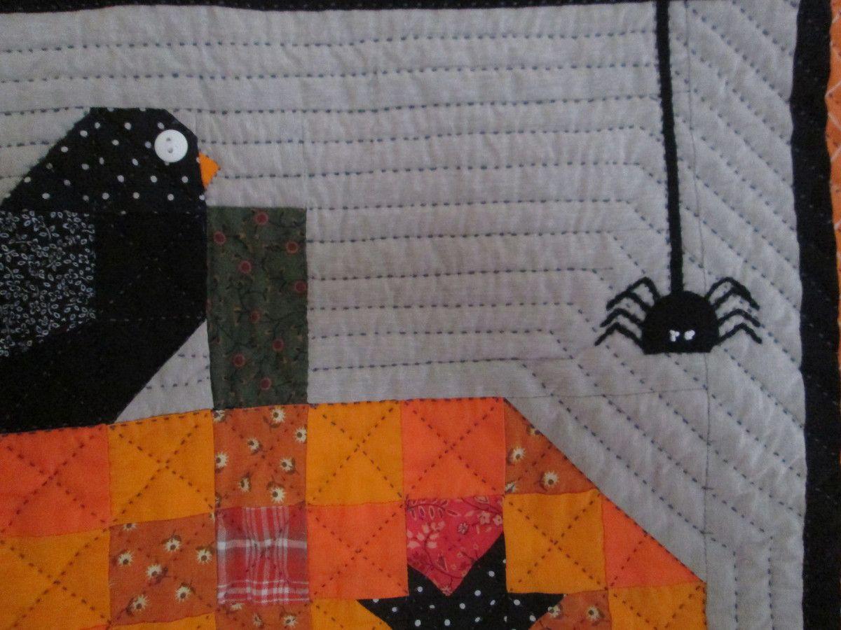 Un oiseau sur la citrouille,2.