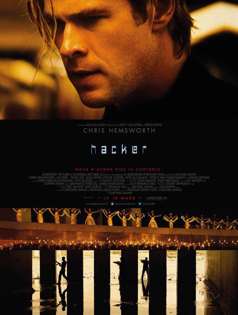 HACKER - Blackhat réalisé par Michael Mann, avec Chris Hemsworth, Viola Davis et Ritchie Coster - Le 18 Mars au Cinéma