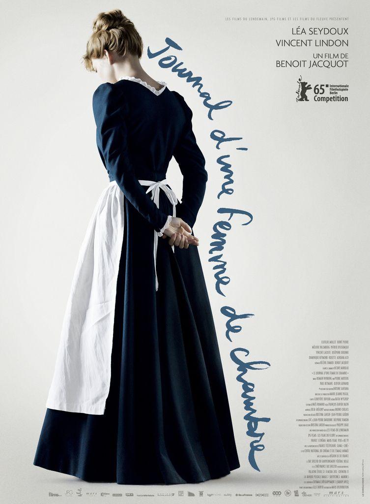 L'affiche de Journal d'une femme de chambre dévoilée - de Benoît Jacquot avec Léa Seydoux et Vincent Lindon - Le 1er avril 2015 au Cinéma