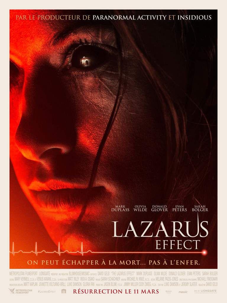 LAZARUS EFFECT, le 11 mars au cinéma ! Le thriller surnaturel avec Olivia Wilde #LazarusEffect
