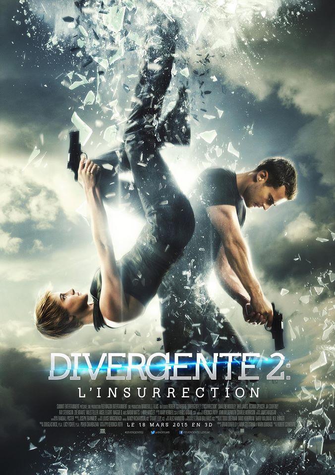 #DIVERGENTE2 L'insurrection - avec Shailene Woodley, Theo James, Naomi Watts, Kate Winslet - Mercredi au Cinéma !