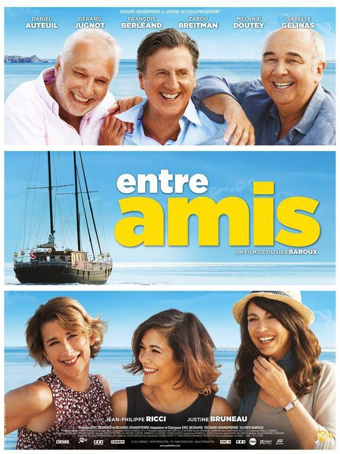 ENTRE AMIS - Quand Daniel Auteuil, Gérard Jugnot et François Bérléand s'éclate dans le prochain film de Olivier Baroux - En salles le 22 avril.
