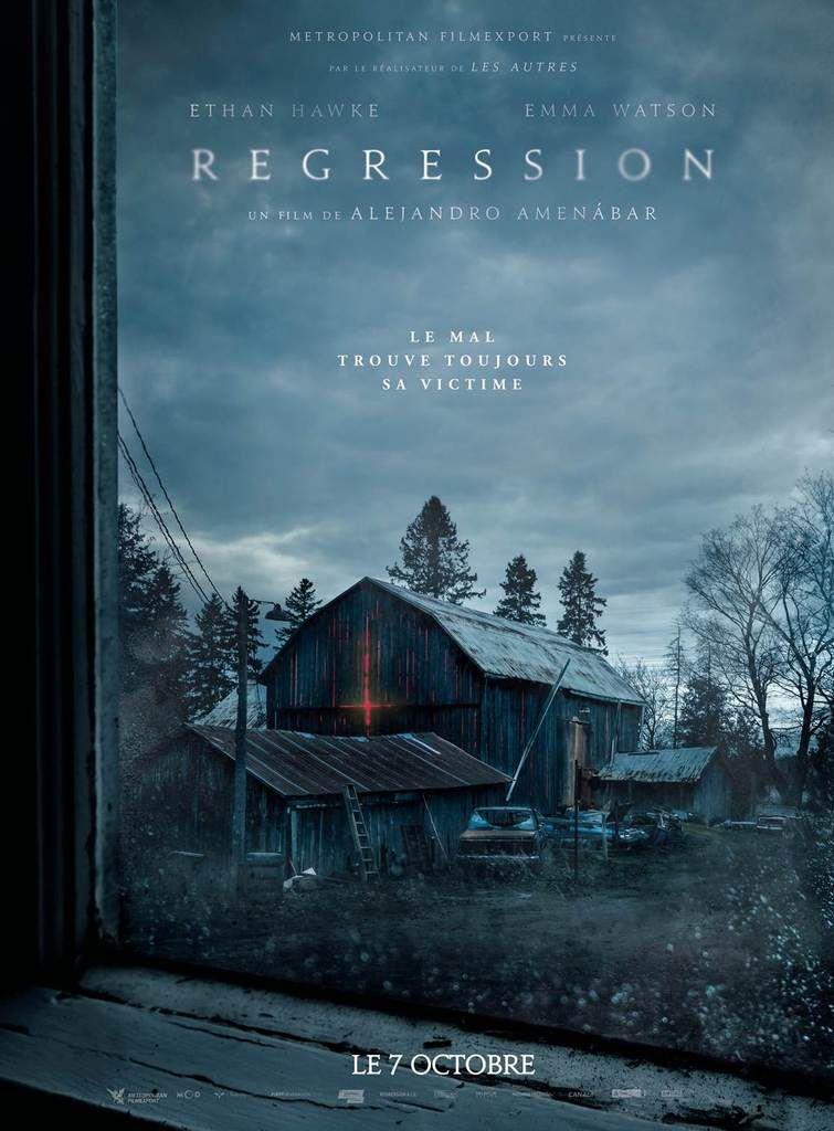 REGRESSION de Alejandro Amenábar avec Ethan Hawke et Emma Watson - Le 7 octobre 2015 au cinéma #Regression