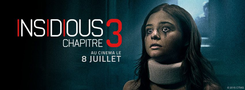 #Insidious3 va vous surprendre le 8 juillet au cinéma…pour connaitre les origines de la saga.