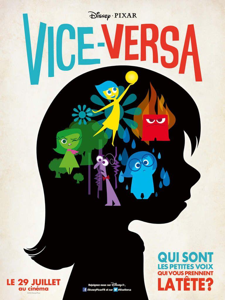 VICE-VERSA - Le 17 Juin au Cinéma vous ferez connaissance avec vos émotions et les petites voix qui vous prennent la tête #ViceVersa