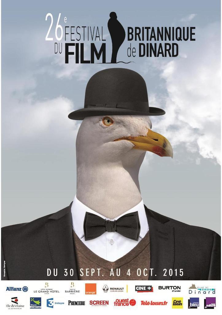 Festival du film britannique de Dinard 2015 - Du 30 Septembre au 4 Octobre 2015
