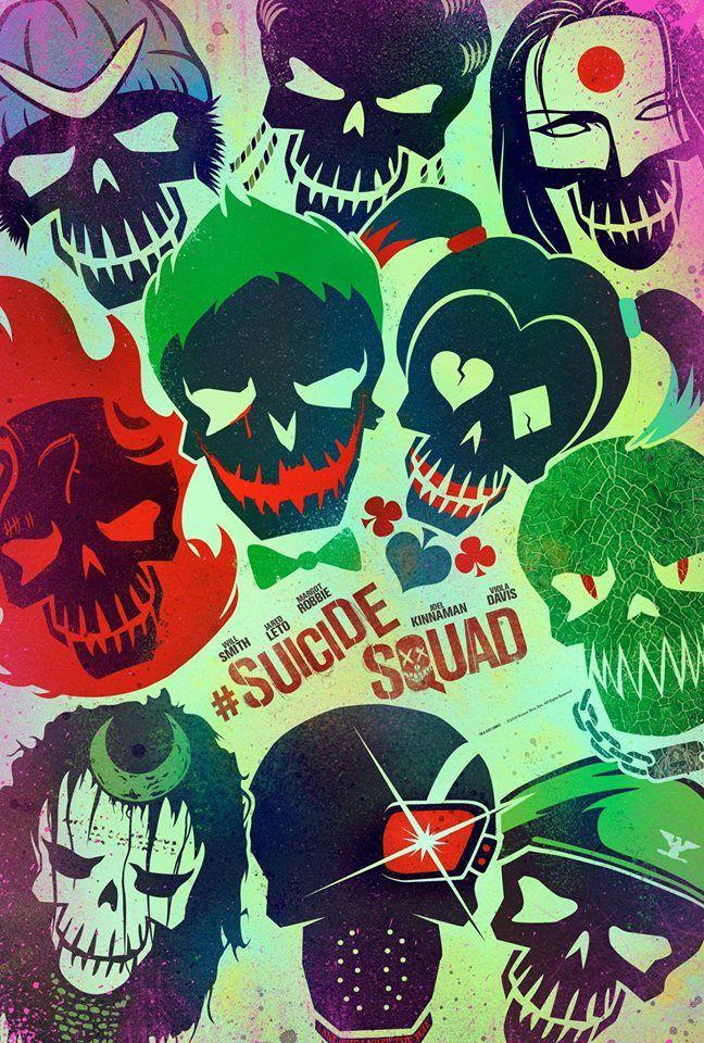 SUICIDE SQUAD - La Bande Annonce de Fou ! et avec une musique de Queen...le 3 août au Cinéma