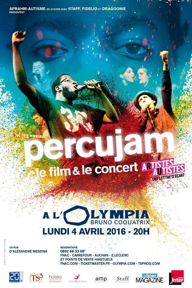PERCUJAM - Le Film et le concert à l'Olympia